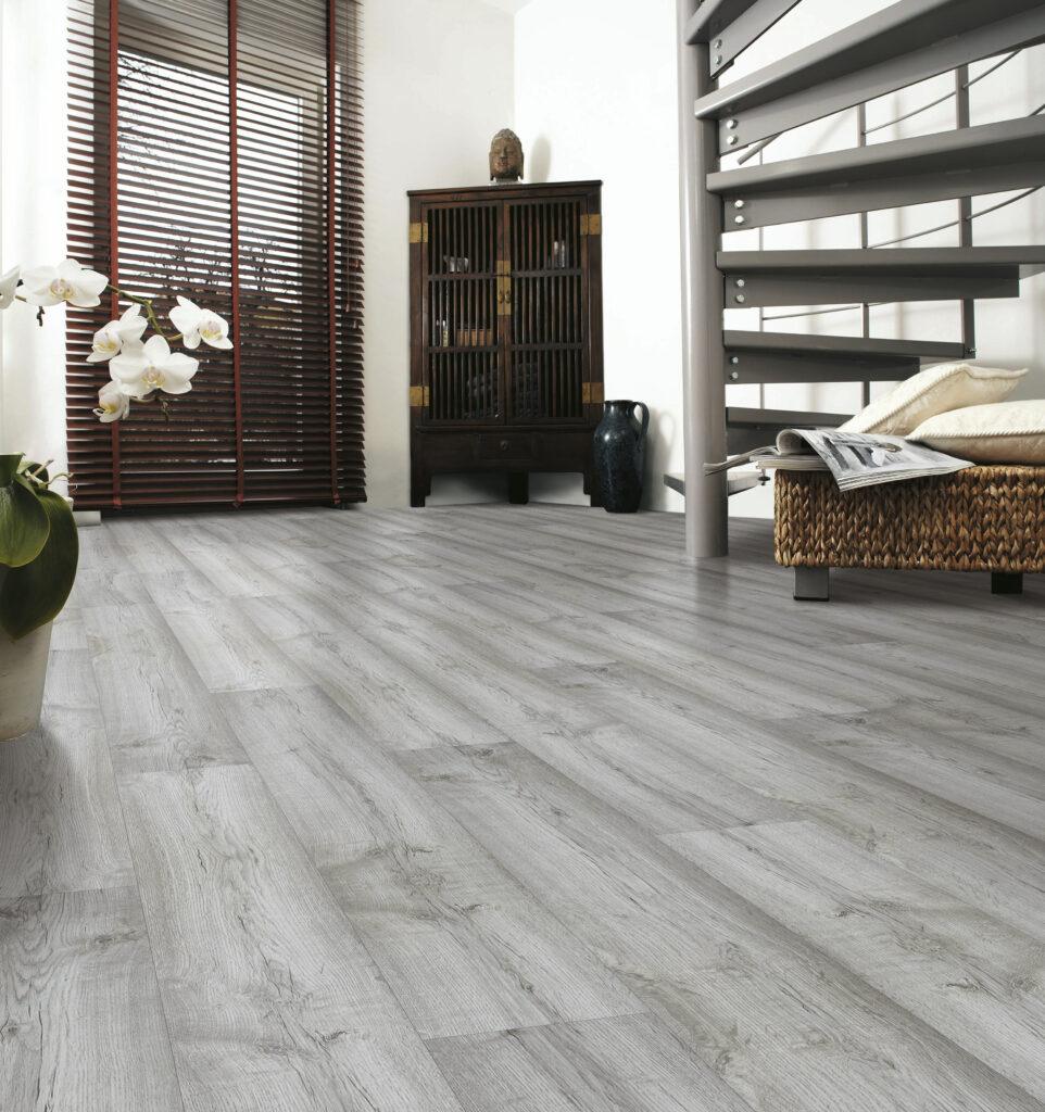 Modern light wood flooring