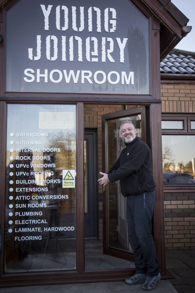 Young Joinery showroom entrance