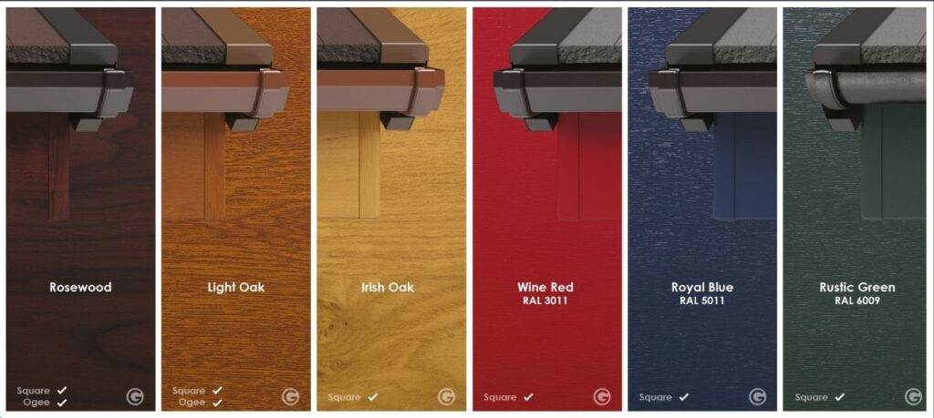 Selection of wood finishes