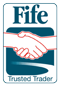 Fife trusted trader logo
