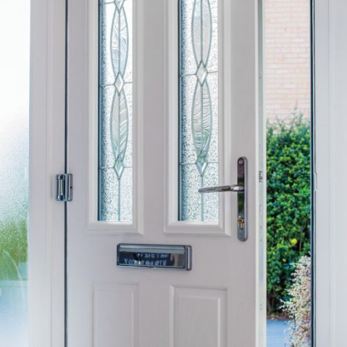 Front door open