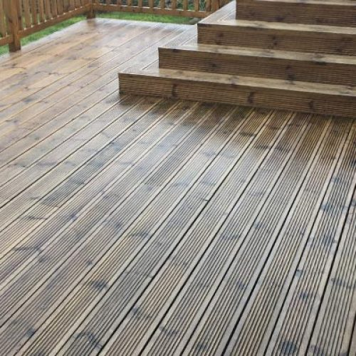 Classic decking
