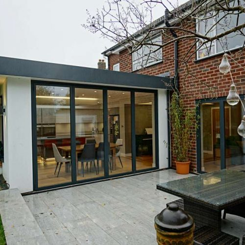 Modern Extension with patio