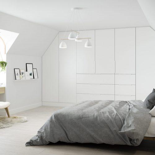 Modern attic conversion