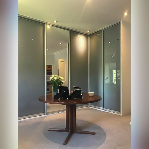 Sliderobe doors glass